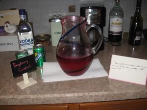 Raspberry cordial!