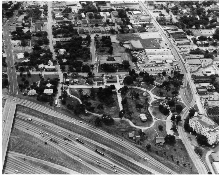Aerial shot 1975