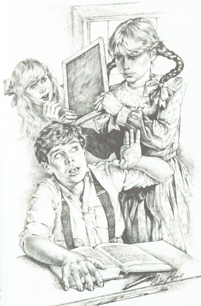Illustration by Wes Lowe (1987)